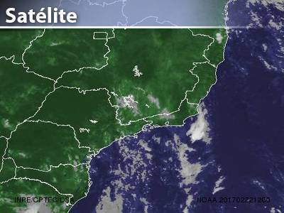 Final de semana de pancadas de chuva sobre parte do Sud...