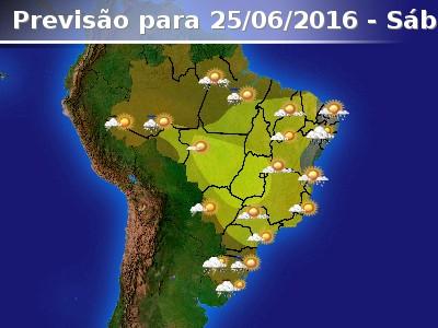 Grande parte do Brasil sem previs�o de chuva