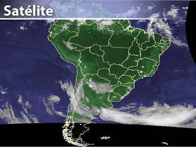 Tempo seco na maior parte do Brasil