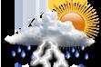 Como estará o tempo dia 28/01/2015 em Siderópolis
