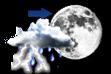 Pancadas de Chuva a Noite