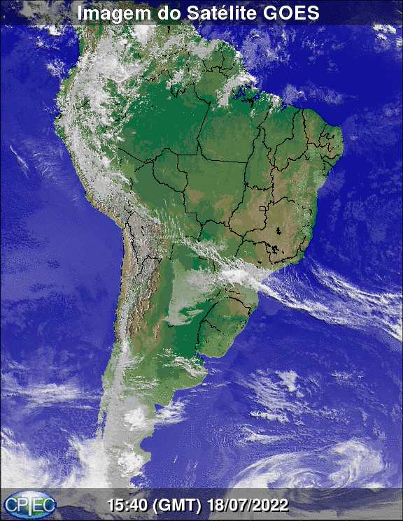 Global Satellite Imagery South America