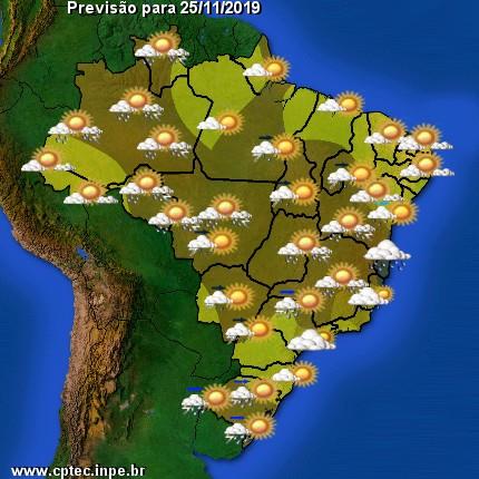 Condição de tempo Brasil