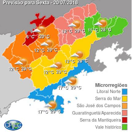 Condição Vale do Paraíba